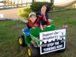 Fallmouth residents ask town to Stope the Turbines