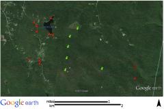 Houses within 3/4 mile of Garnet Wind Farm (Peru, MA)