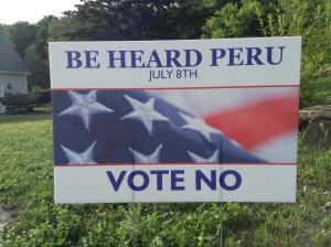 Peru-yard-sign